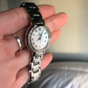 Crystal Women's Bulova Watch